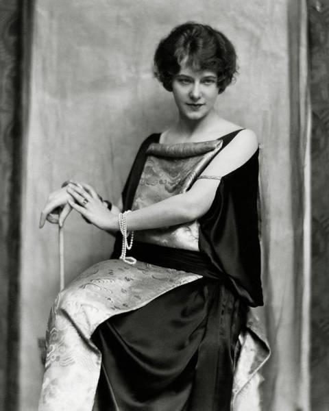 American Beauty Photograph - Portrait Of Elsie Ferguson by Nickolas Muray