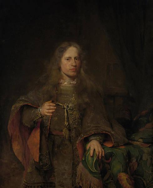 Wall Art - Drawing - Portrait Of Ernest De Beveren, Lord Of West-ijsselmonde by Litz Collection