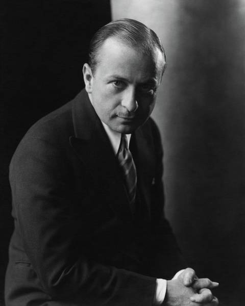 Male Portrait Photograph - Portrait Of Ernest Truex by Edward Steichen