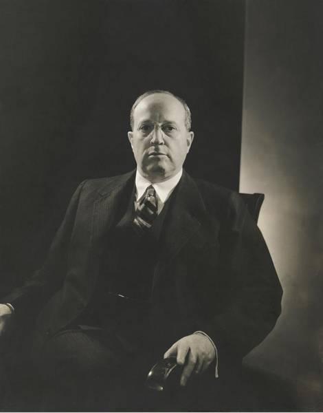 Eugene Photograph - Portrait Of Eugene P. Meyer by Edward Steichen