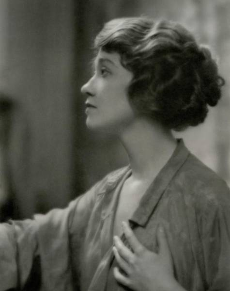1922 Photograph - Portrait Of Fay Bainter by Arnold Genthe