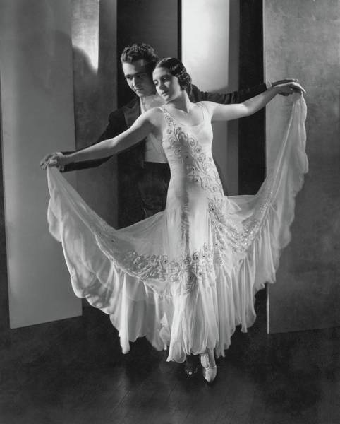 Formal Wear Photograph - Portrait Of Frank And Yolanda Veloz by Edward Steichen