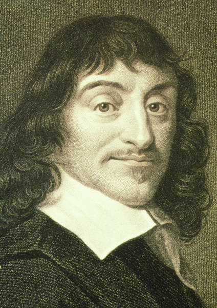 Philosopher Wall Art - Photograph - Portrait Of French Mathematician Rene Descartes by George Bernard/science Photo Library
