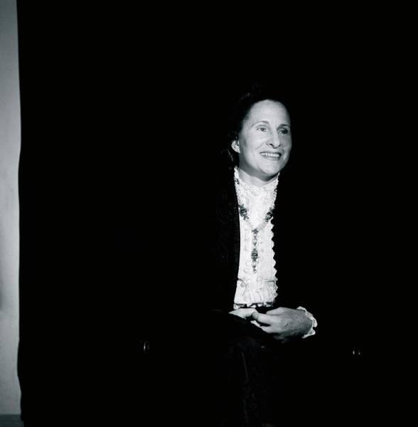 Eastern European Photograph - Portrait Of Gala Dali by Horst P. Horst