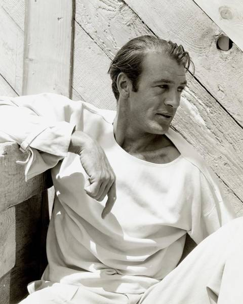 Wall Photograph - Portrait Of Gary Cooper by George Hoyningen-Huene