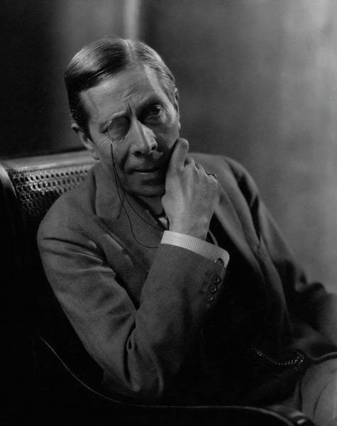 Male Portrait Photograph - Portrait Of George Arliss by Edward Steichen
