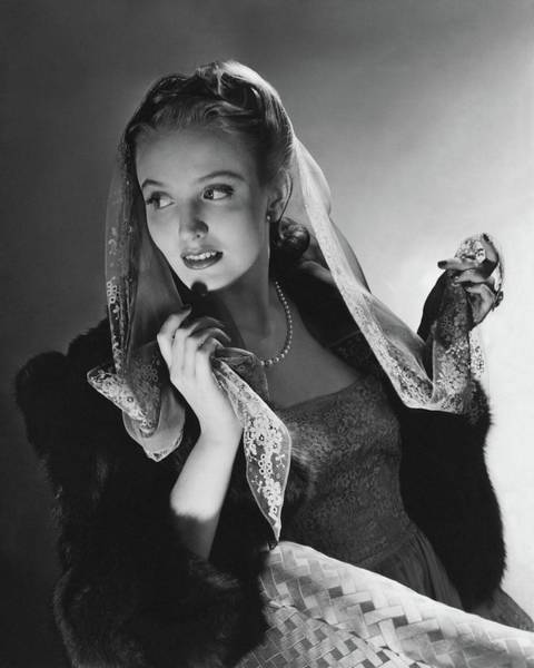 July 15th Photograph - Portrait Of Georgia Carroll by Horst P. Horst