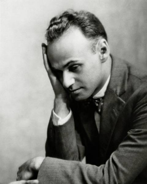 Male Photograph - Portrait Of Gilbert Seldes by Nickolas Muray