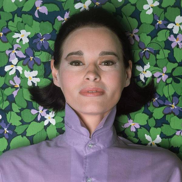 Gloria Photograph - Portrait Of Gloria Vanderbilt by Gianni Penati