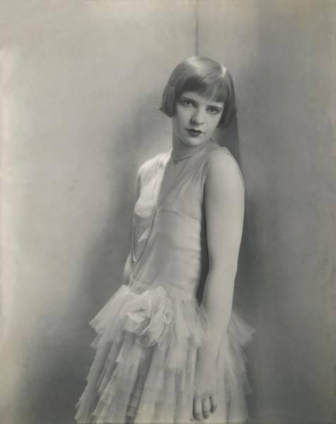 Wall Art - Photograph - Portrait Of Harriet Hocker by Edward Steichen