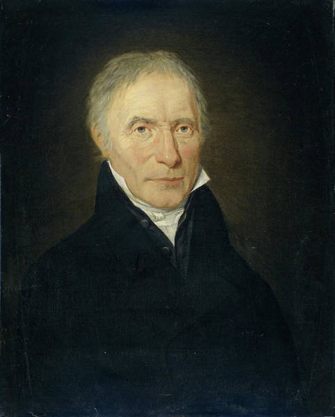 Crone Wall Art - Drawing - Portrait Of Heinrich Gottfried Theodor Crone by Litz Collection