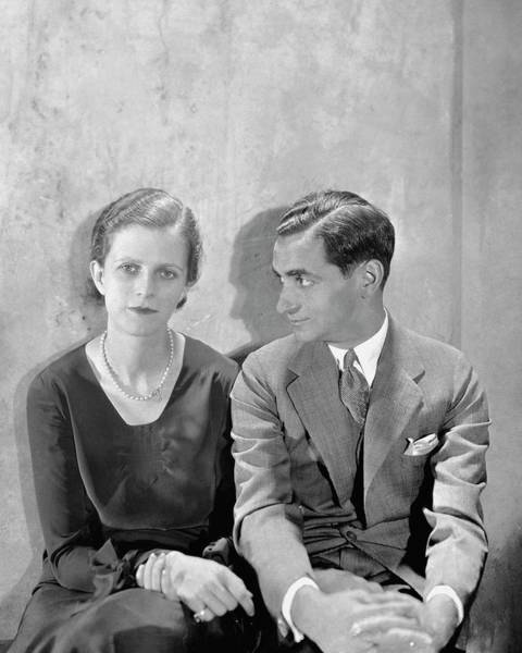 Middle Aged Photograph - Portrait Of Irving Berlin And His Wife by Cecil Beaton