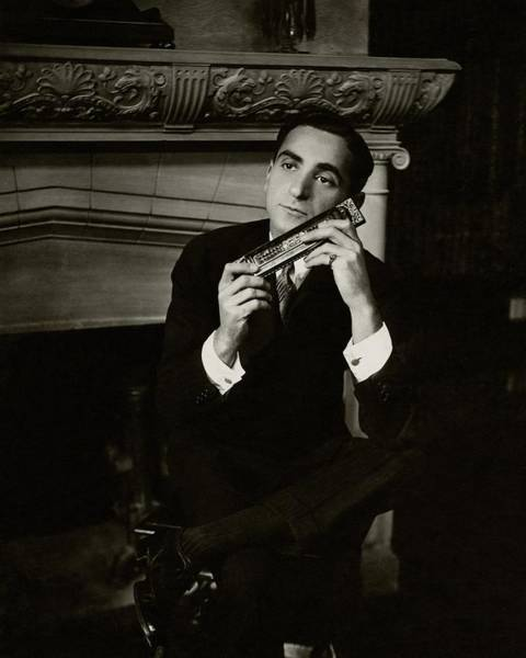 Real People Photograph - Portrait Of Irving Berlin by Florence Vandamm