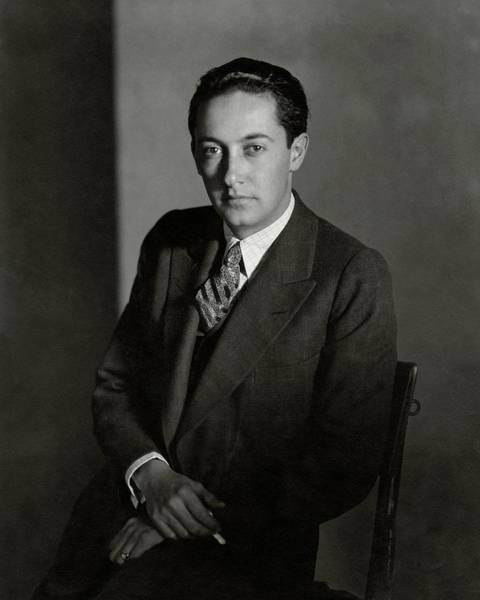 Real People Photograph - Portrait Of Irving Thalberg by Edward Steichen