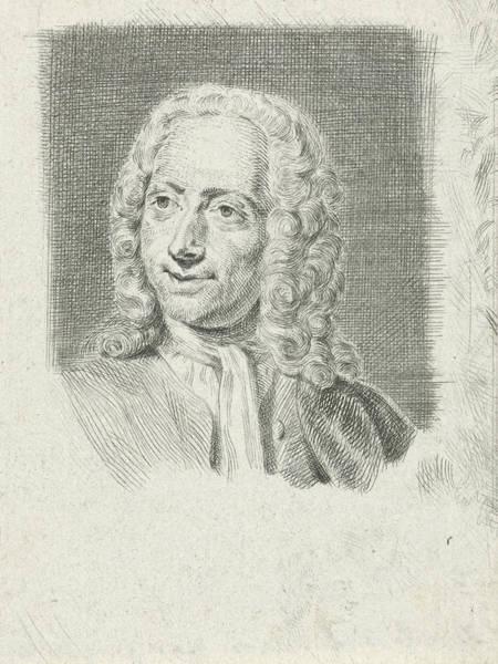 Wall Art - Painting - Portrait Of Isaac Walraven, Julius Henricus Quinkhard by Julius Henricus Quinkhard