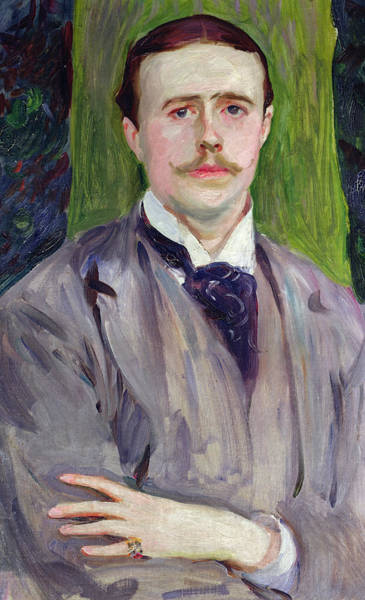 Ring Painting - Portrait Of Jacques-emile Blanche by John Singer Sargent