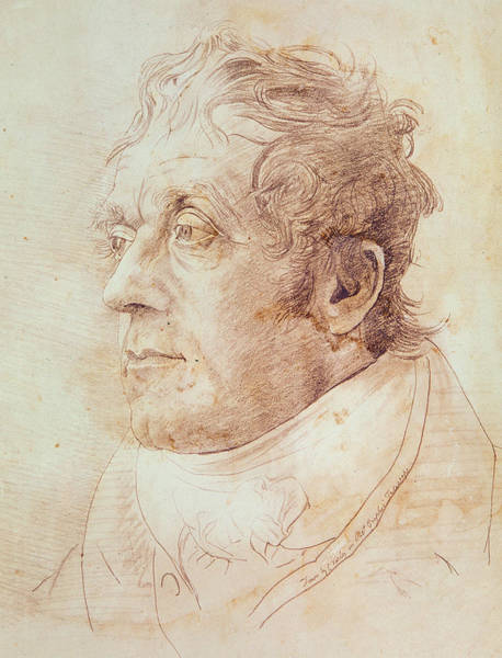 Gentleman Drawing - Portrait Of Jmw Turner by Cornelius Varley