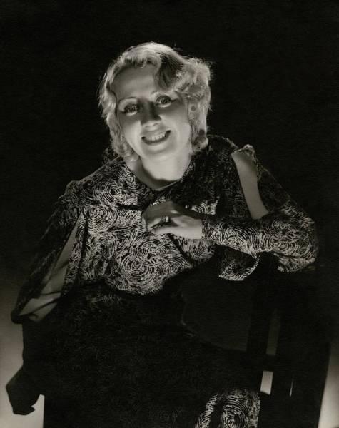 American Beauty Photograph - Portrait Of Joan Blondell by Edward Steichen