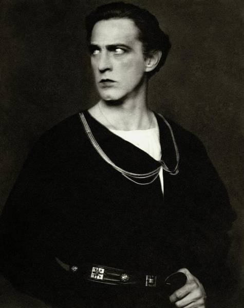 1923 Photograph - Portrait Of John Barrymore by Edward Steichen