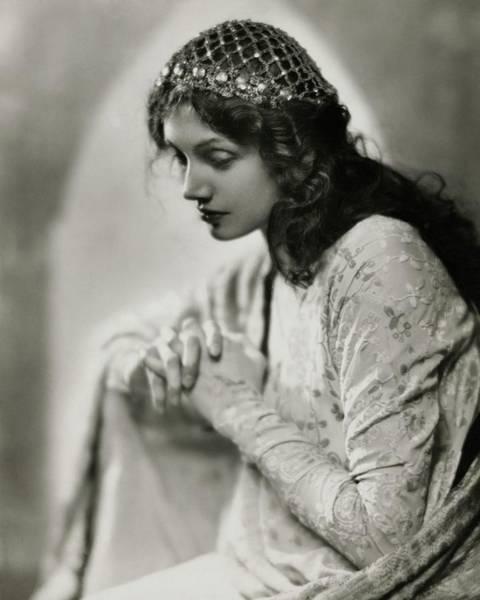1923 Photograph - Portrait Of Katharine Cornell by Nickolas Muray