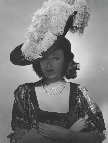 1945 Photograph - Portrait Of Kathleen Winsor by Erwin Blumenfeld