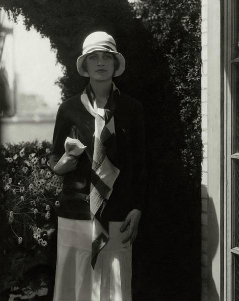 July 15th Photograph - Portrait Of Lee Miller by Edward Steichen