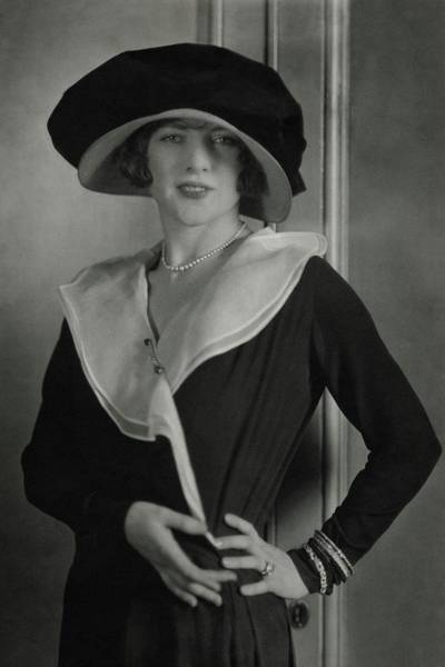 Photograph - Portrait Of Lenore Hughes by Edward Steichen