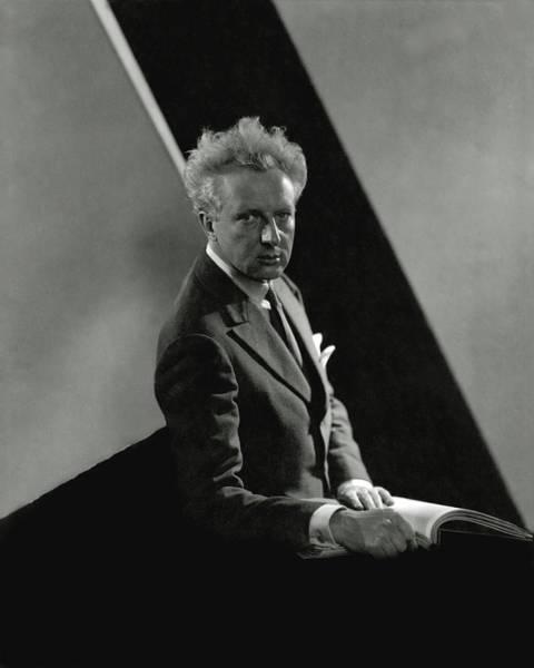 Wall Art - Photograph - Portrait Of Leopold Stokowski by Edward Steichen