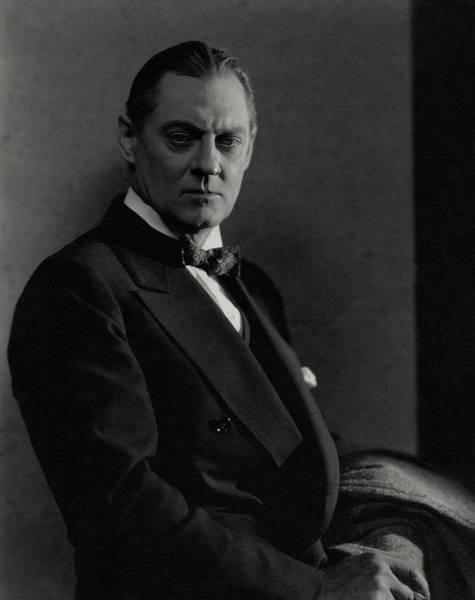 Lionel Photograph - Portrait Of Lionel Barrymore by Edward Steichen