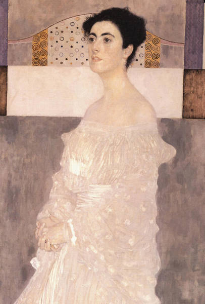 Painting - Portrait Of Margaret Stonborough Wittgenstein by Gustav Klimt