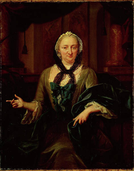 Wall Art - Drawing - Portrait Of Margaretha Trip, Wife Of Hendrik Van De Poll by Litz Collection
