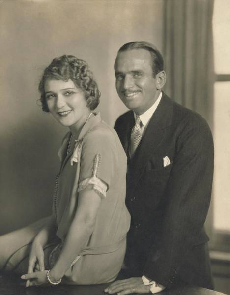 Photograph - Portrait Of Mary Pickford And Douglas Fairbanks by Edward Steichen