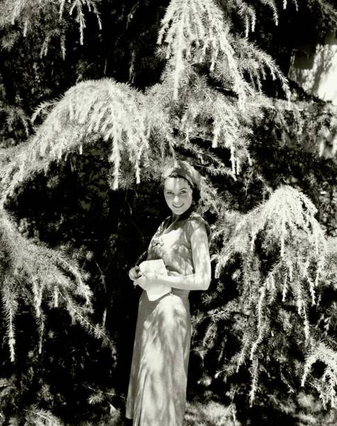 American Beauty Photograph - Portrait Of Maureen O'sullivan by Edward Steichen