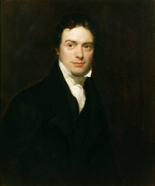 Physics Painting - Portrait Of Michael Faraday by Henry William Pickersgill