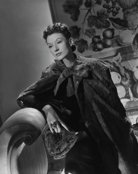 January 1st Photograph - Portrait Of Millicent Rogers by Horst P. Horst
