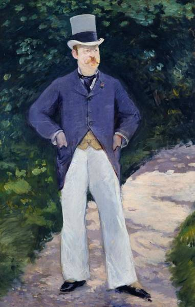 Wall Art - Painting - Portrait Of Monsieur Brun by Edouard Manet