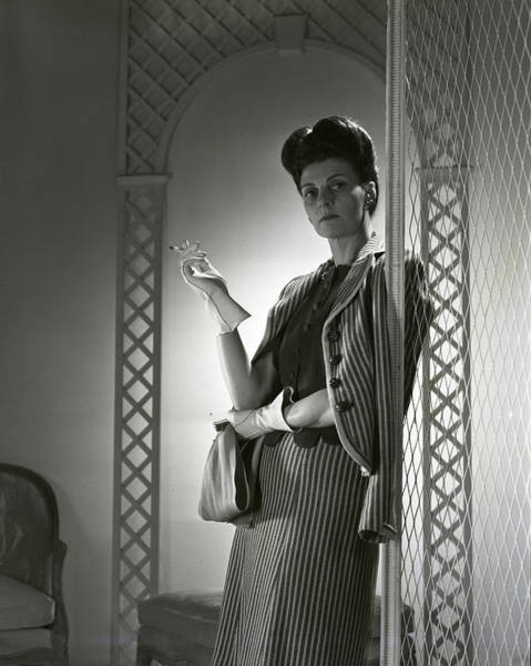 Wall Art - Photograph - Portrait Of Mrs. Michael Arlen by Horst P. Horst