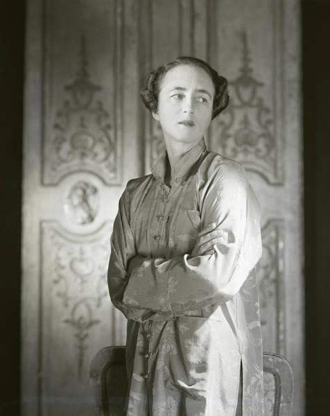 Mandarin Wall Art - Photograph - Portrait Of Mrs. Stevens Baird by Horst P. Horst