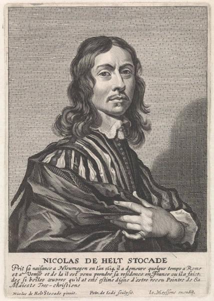 Wall Art - Painting - Portrait Of Nicolaes Van Helt Stocade, Pieter De Jode II by Pieter De Jode (ii) And Joannes Meyssens