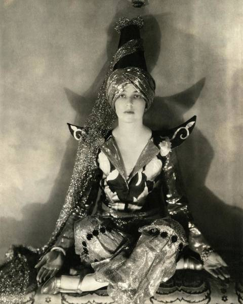 Dance Photograph - Portrait Of Jeanne Jacqueline Harper by Edward Steichen