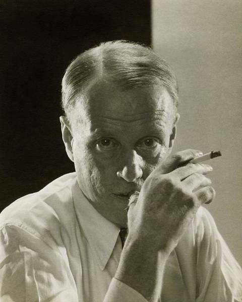 Authors Photograph - Portrait Of Novelist Sinclair Lewis by Edward Steichen
