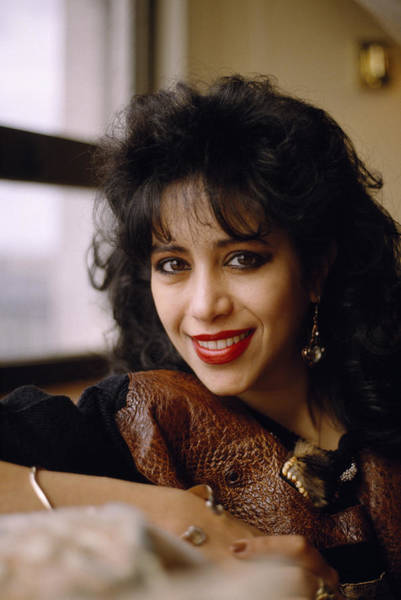 Photograph - Portrait Of Ofra Haza by Shaun Higson