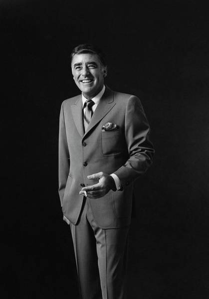 Portrait Of Peter Lawford Art Print by Leonard Nones