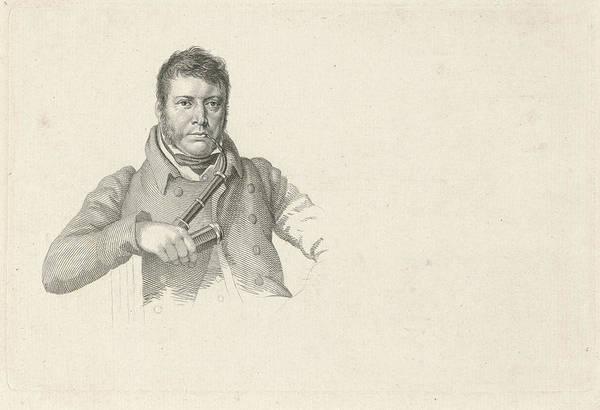Wall Art - Painting - Portrait Of Pieter Gerardus Van Os by Hendrik Willem Caspari
