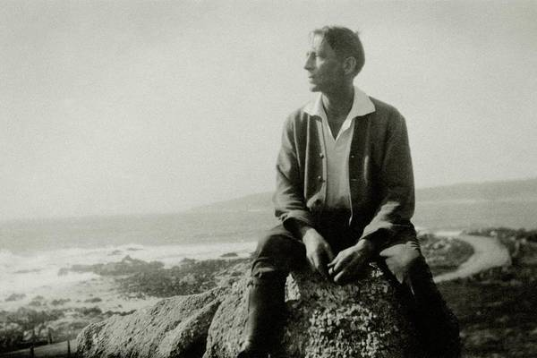 Poet Photograph - Portrait Of Poet Robinson Jeffers Sitting by Cecil Beaton