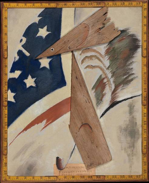 Central America Painting - Portrait Of Ralph Dusenberry by Arthur Dove