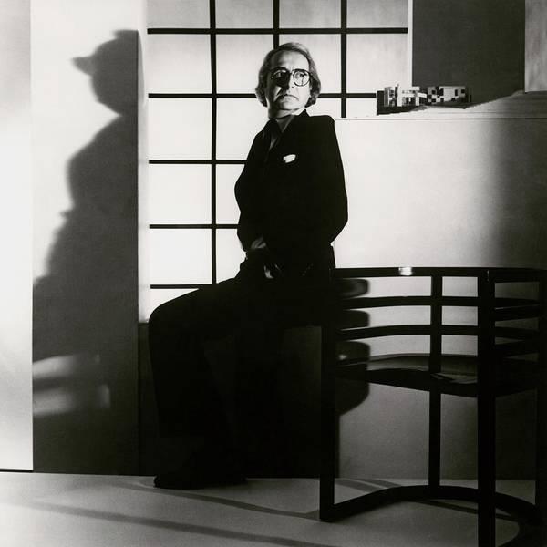 Architecture Photograph - Portrait Of Richard Meier by Horst P. Horst