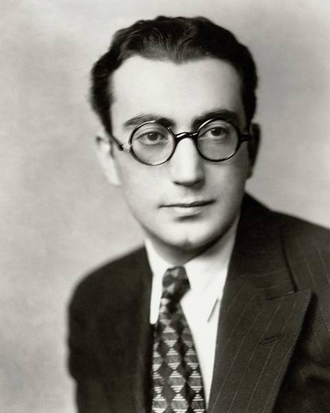 Male Portrait Photograph - Portrait Of Rouben Mamoulian by Florence Vandamm