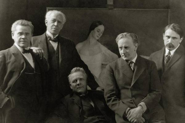 Eastern European Photograph - Portrait Of Russian Artists by Arnold Genthe