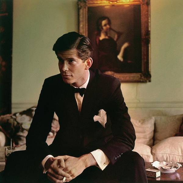 Male Portrait Photograph - Portrait Of Samuel Pryor Reed by Horst P. Horst